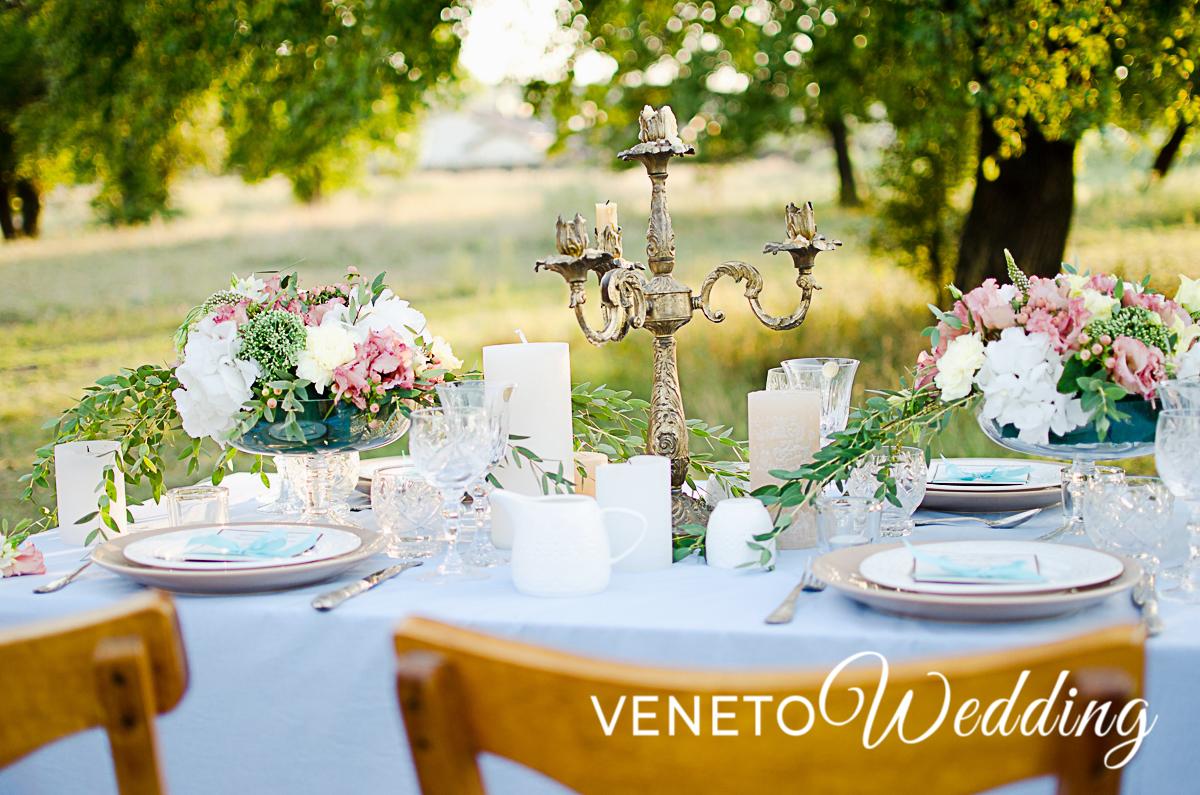 Heiraten im Garten Venedigs